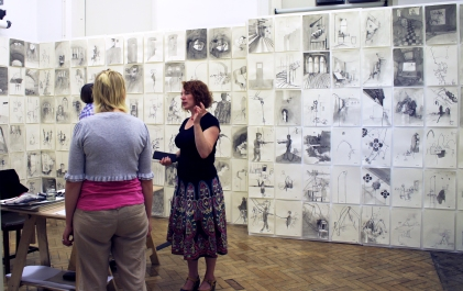 Kim James-Williams - Postgraduate Exhibition - May 2012