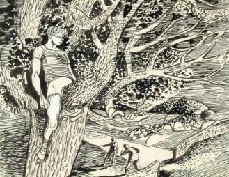 Illustration to Spirit of Jem