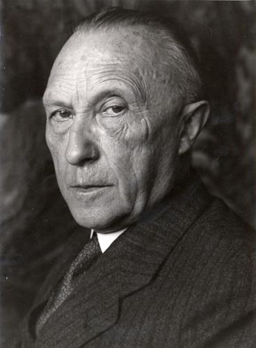 Chancellor Konrad Adenauer