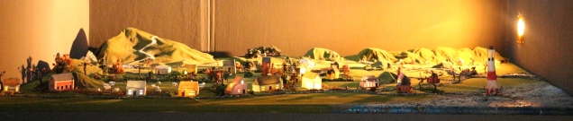 Harriet McDevitt-Smith, 'The Village at Sunset'