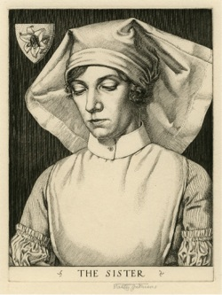 The Sister, engraving, 1931