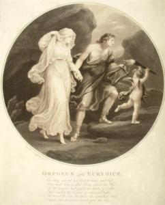 Orpheus and Eurydice, Angelica Kauffman