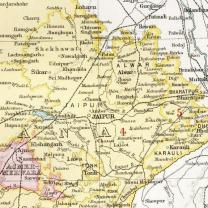 Jaipur-Bharatpur-Map