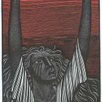Heledd on the Wrekin from Harry Brockway: The Story of Heledd ©Gwasg Gregynog