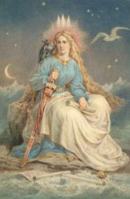 Iceland, Johann Baptist Zwecker, ca. 1860-6, watercolour