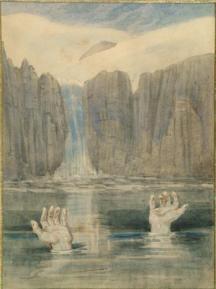 The Troll, Johann Baptist Zwecker, ca. 1860-66, watercolour