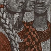 Three Princesses from Harry Brockway: The Story of Heledd ©Gwasg Gregynog