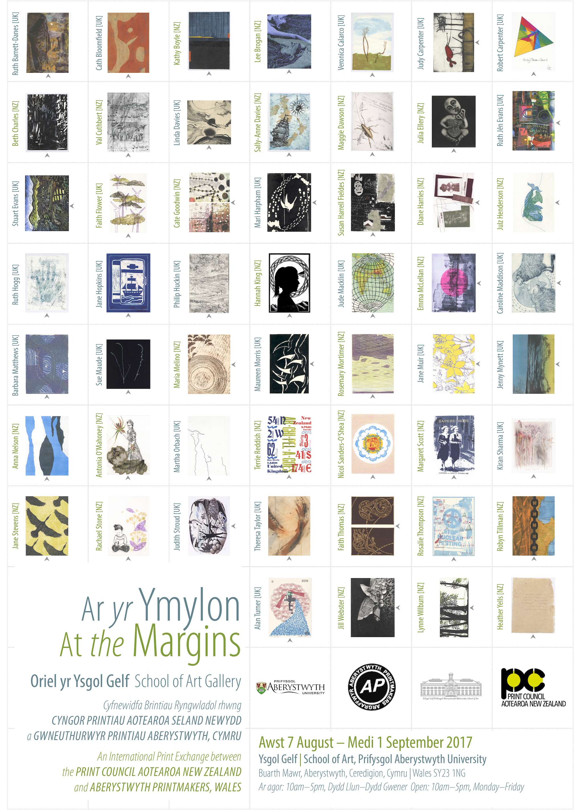 At the Margins Poster 2017