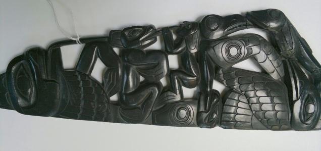 Haida Argillite Carving Complete II Jul 2017