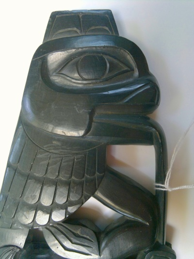 Haida Argillite Carving Intact Part V Jul 2017
