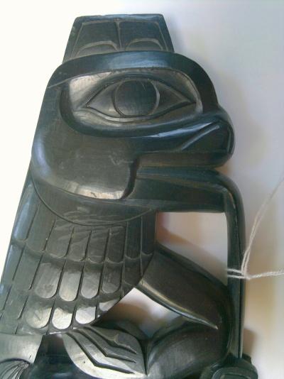 Haida Argillite Carving Intact Part V Jul 2017