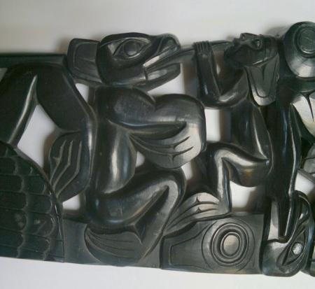 Haida Argillite Carving Middle Part II Jul 2017