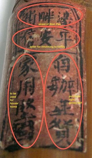 label translated II