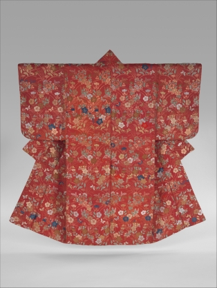 Noh robe (Karaori), silk and metal thread, late 18th century, Met Museum, New York
