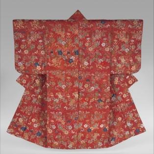 Noh robe (Karaori), silk and metal thread, late 18th century, Met Museum, New York