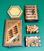 Raffia boxes