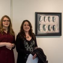 Eleanor West (left) and Anastasia Wildig