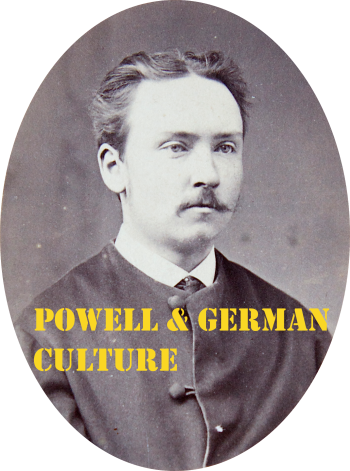 Powell and German Culture Stencil