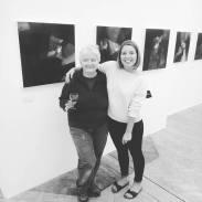 Rachel Hannah Luxton with tutor Dr. June Forster