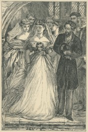 'A puir feckless Thing, tottering along like -', The Claverings, Cornhill Magazine Vol. ?, 1866, Mary Ellen Edwards, PL1232
