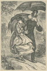 'Mr Saul proposes', The Claverings, Cornhill Magazine Vol. 13, 1866, Mary Ellen Edwards, PL1234