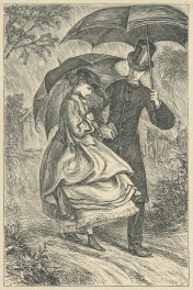 'Mr Saul proposes', The Claverings, Cornhill Magazine Vol. 13, 1866, Mary Ellen Edwards, PL1234