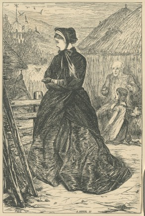 'Was not the Price in her Hands?', The Claverings, Cornhill Magazine Vol. 13, 1866, Mary Ellen Edwards, PL1235
