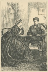 'A friendly Talk', The Claverings, Cornhill Magazine Vol. 13, 1866, Mary Ellen Edwards PL1236