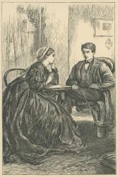 'A friendly Talk', The Claverings, Cornhill Magazine Vol. 13, 1866, Mary Ellen Edwards PL1236