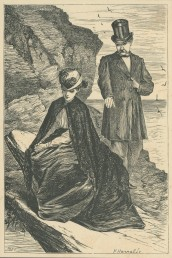 """Lady Ongar, are you not rather near the Edge?"", The Claverings, Cornhill Magazine Vol. 14, 1866, Mary Ellen Edwards, PL1237"