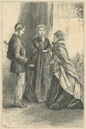 'Captain Clavering makes his first Attempt', The Claverings, Cornhill Magazine Vol. 14, 1866, Mary Ellen Edwards PL1239