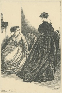 'How Damon parted from Pythias', The Claverings, Cornhill Magazine Vol. 14, 1866, Mary Ellen Edwards, PL1240