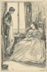 """""""Harry"""", she said,""""There is nothing wrong between you and Florence?"""", Cornhill Magazine Vol. 14, 1866, Mary Ellen Edwards, PL1241"""