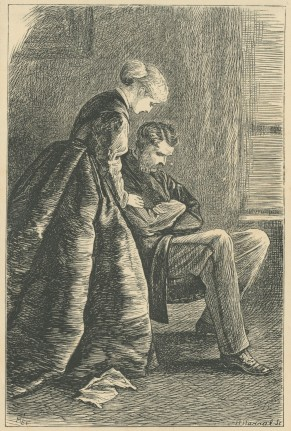 'The Lord giveth, and the Lord taketh away.' The Claverings, Cornhill Magazine Vol. 14, 1866, Mary Ellen Edwards, PL1242