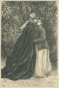 'Lady Ongar and Florence', The Claverings, Cornhill Magazine Vol. 15, 1867, Mary Ellen Edwards, PL1257