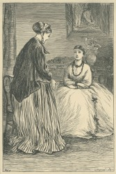 'The Plea for Mercy', The Claverings, Cornhill Magazine Vol. 15, 1867, Mary Ellen Edwards, PL1258