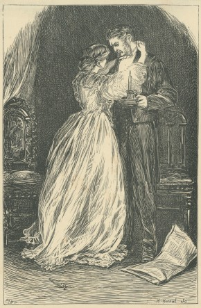 'Husband and Wife', The Claverings, Cornhill Magazine Vol. 15, 1867, Mary Ellen Edwards, PL1260