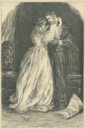 'Husband and Wife', The Claverings, Cornhill Magazine, 1867, Mary Ellen Edwards, PL1260