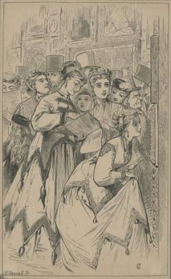 Academy Belles, London Society Vol. 12, 1867, Adelaide Claxton, PL591