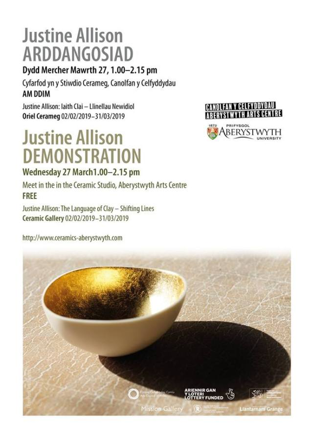 Justine's Demonstration 27th March 2019