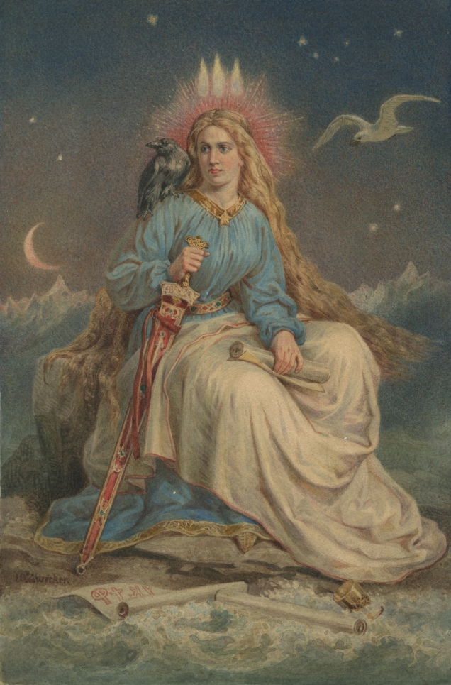 Zwecker - Lady of the Mountain - Iceland